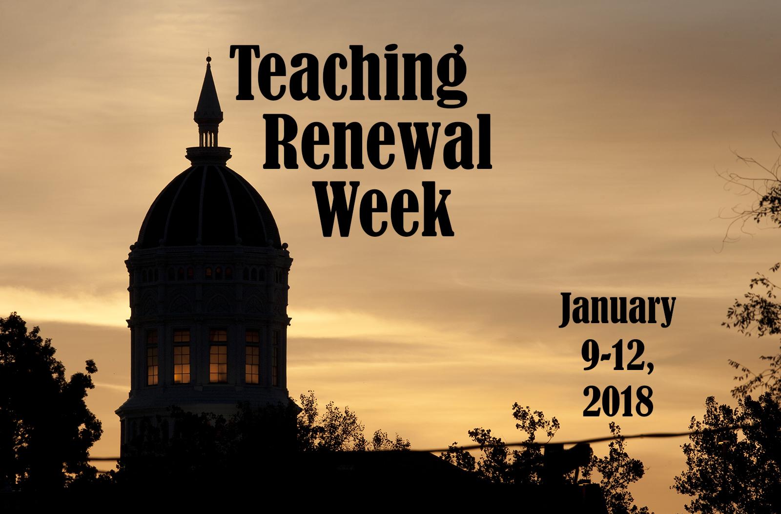 teaching renwal week