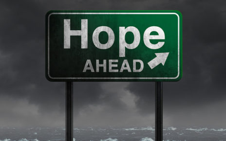 hope_ahead sign