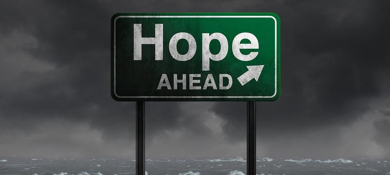 hope_ahead sign
