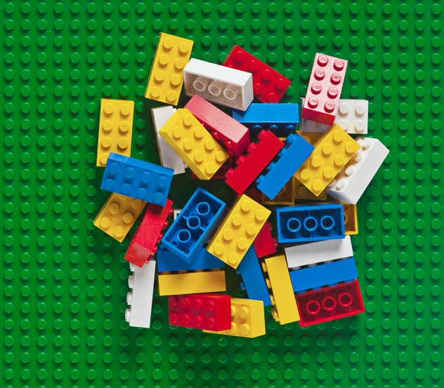 Photo of stack of Legos