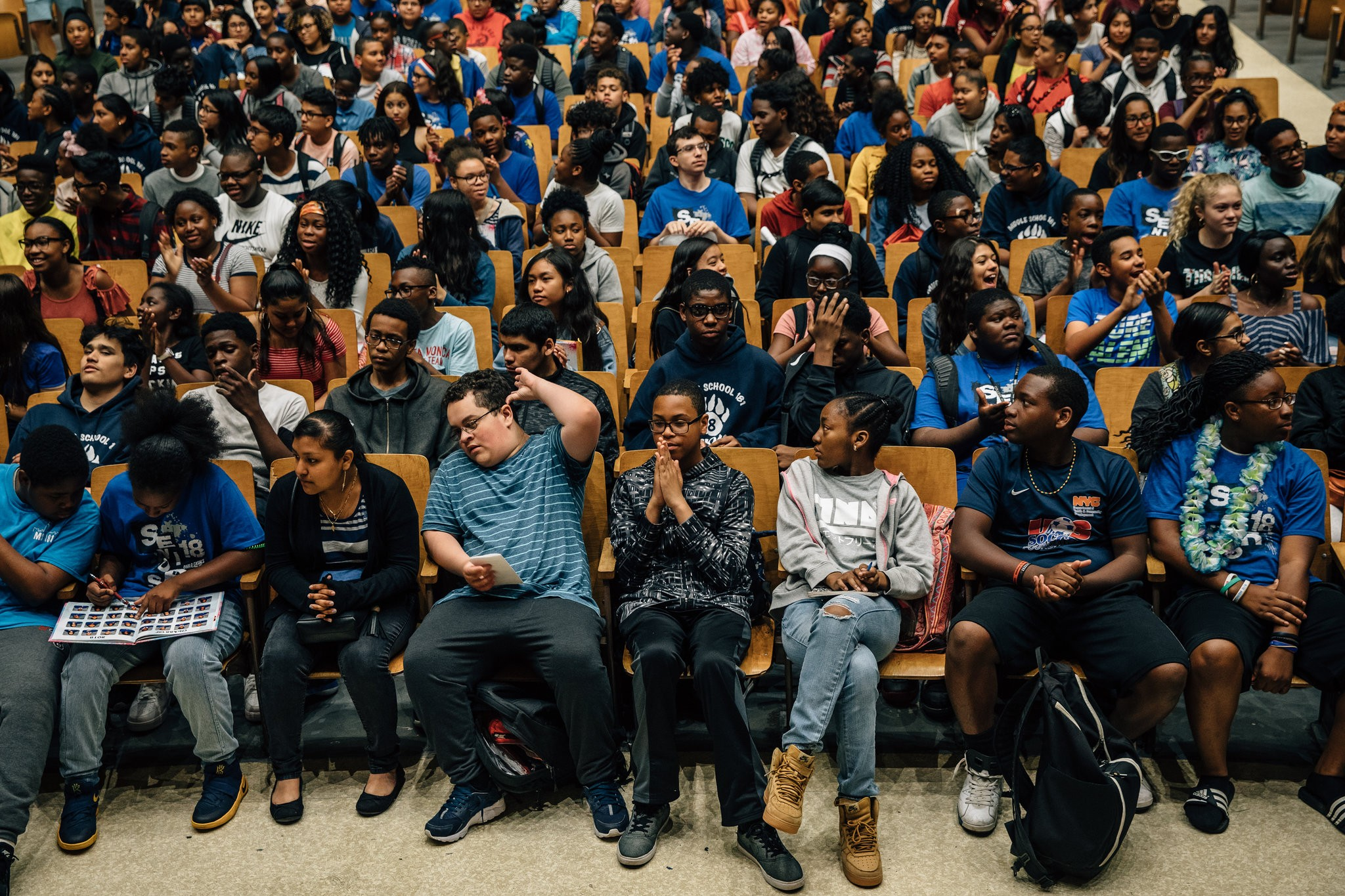 Photo of students from The New York Times