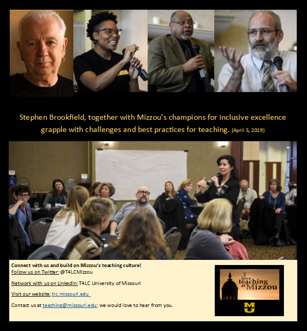 Collage of speakers